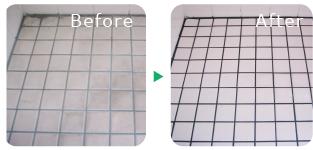 床タイル特殊洗浄